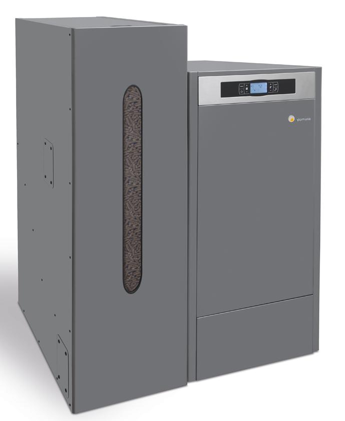 Domusa Bioclass NG Boiler