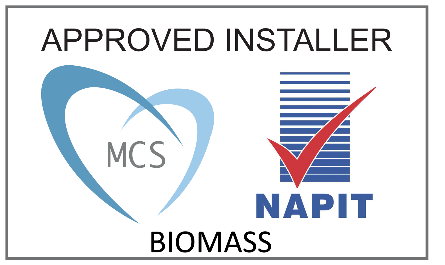 MCS approved installer logo