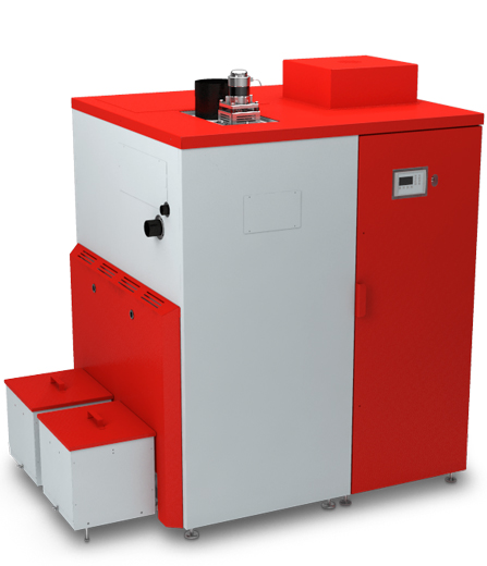 A Biotech HZ150 commercial wood chip boiler