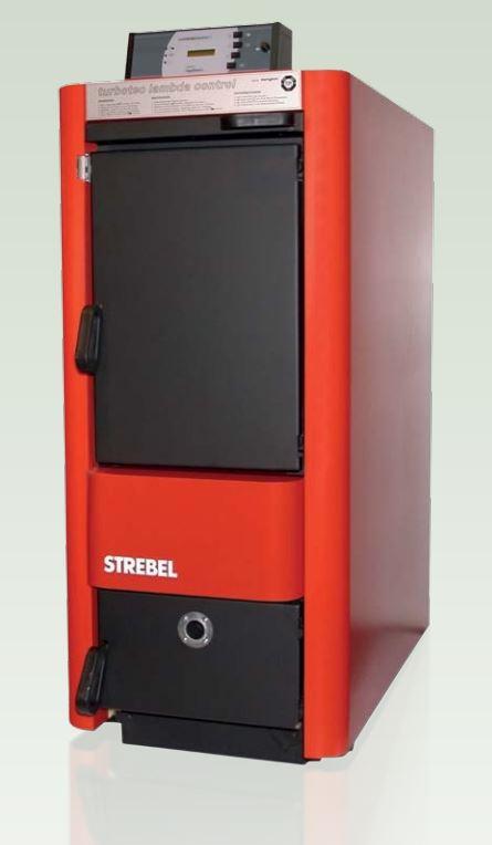 Biotech log boiler HVZ25L - modern and efficient log heating.