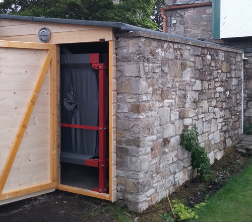 Wood Pellet Shed ~ Case studies of wood fuelled boiler systems by pellets heat