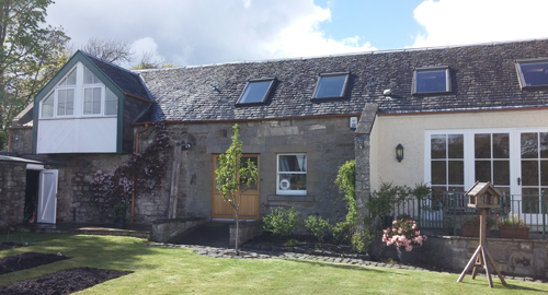 Coach house steading conversion